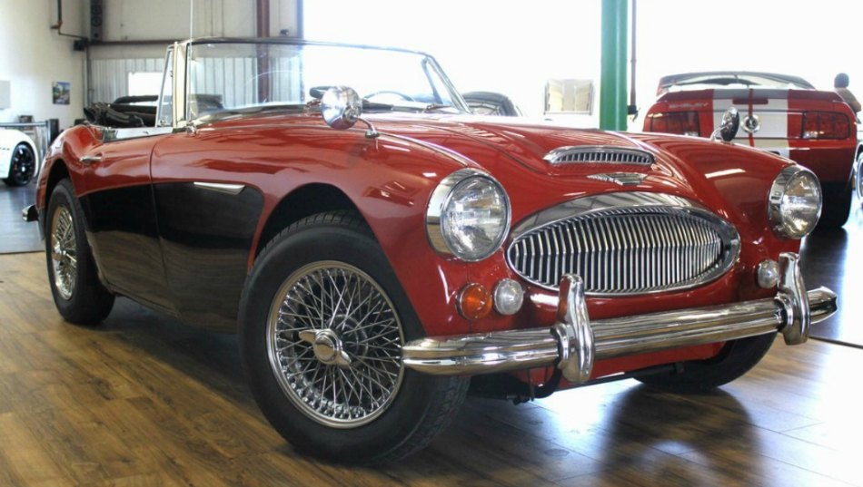 We Re Bully For British Sports Cars 1967 Austin Healey Mkiii