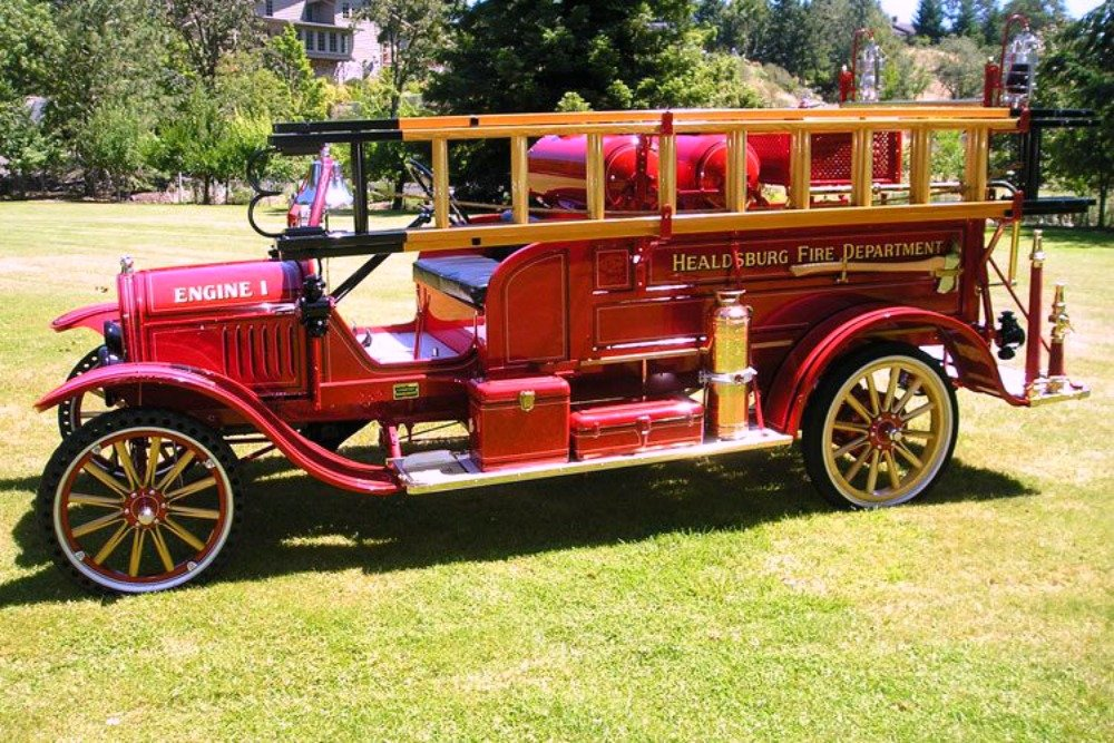 Antique and Vintage Fire Trucks Rescued and Restored