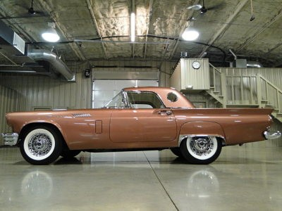 Looking for a 1957 Thunderbird? Here's one for sale