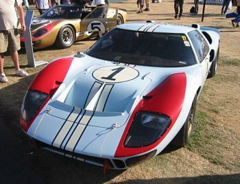 Original Ford GT 40 off which the GT was based