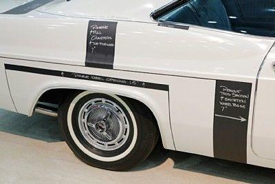 1965 Impala stock for comparison to the original