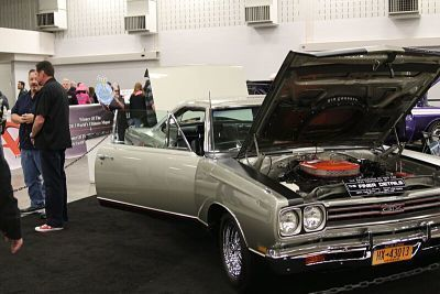 1969 GTX is one of very few with the rare HEMI option