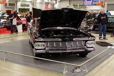 "1959 impala front ""eyebrows"""