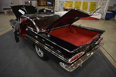1959 Impala in sinister black