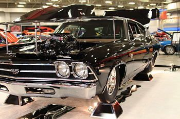 1969 Chevelle SS features a 638 CI chevy Big Block