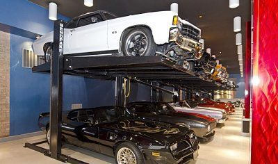 """when building your garage if you need more space trying going """"up"""""""