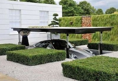 """when building your garage if up is not a option try building """"down"""""""