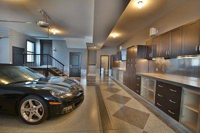 Fancy garage styling
