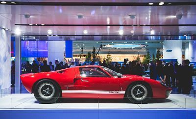 1963 Ford GT40 is still the inspiration for 2017 model