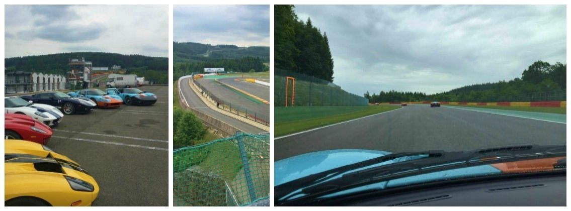 Day 2 Ford Gt participates in laps at the Circuit de spa-francorchamps