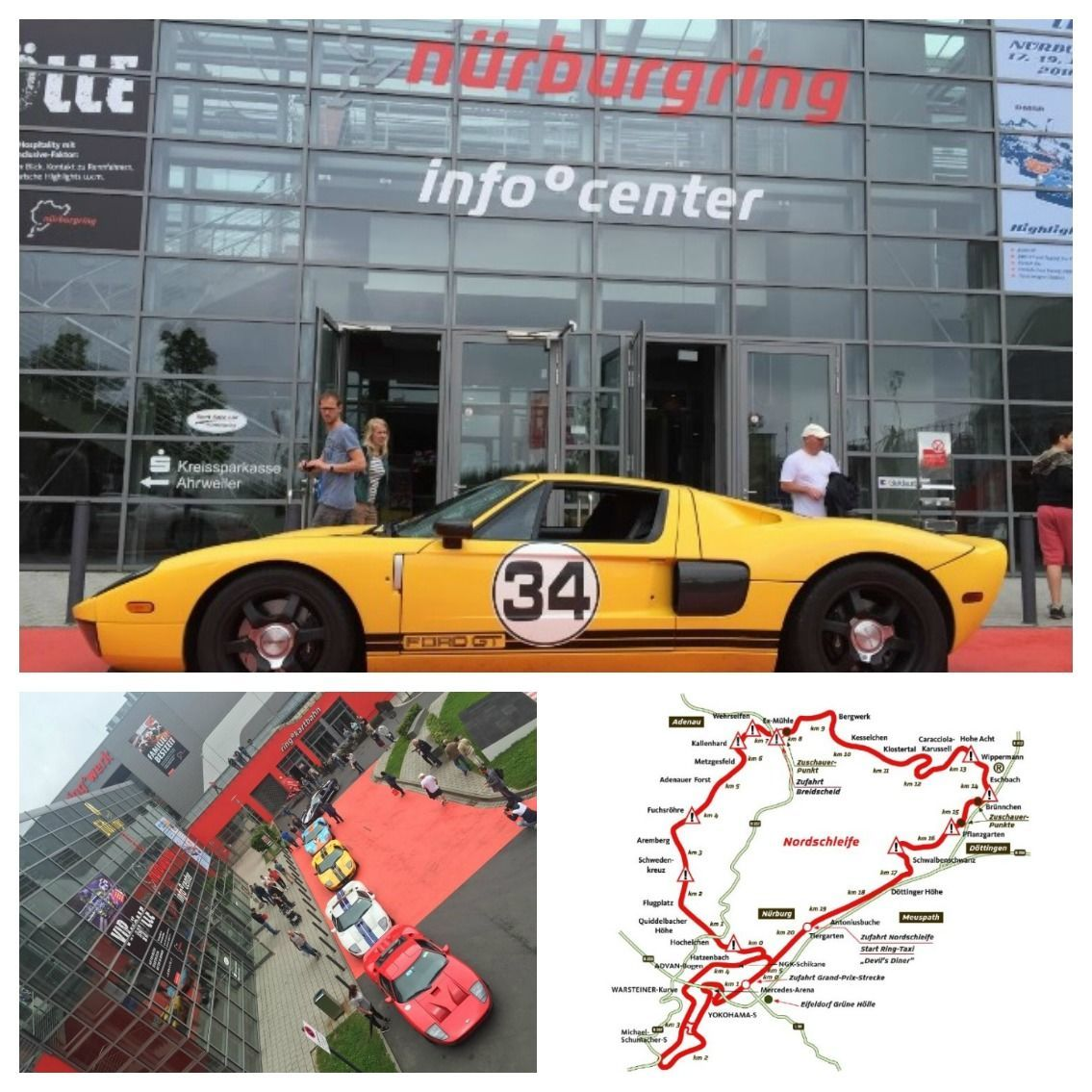 Day 3 nurburgring tour for Ford Gt