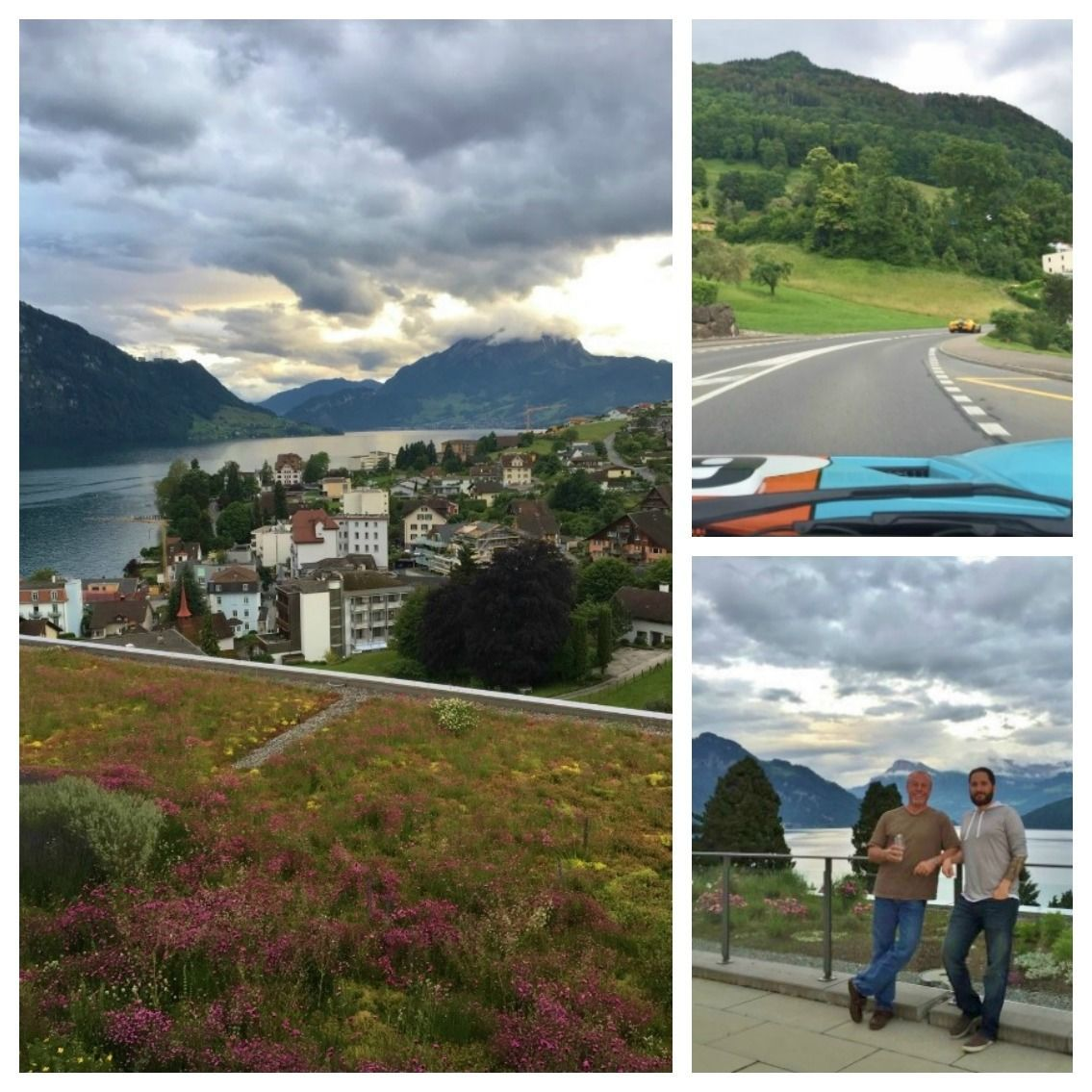 Day 3 Switzerland tour in ford GT