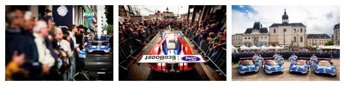 day 4 Ford GT arrives at Lemans for 50th anniversary