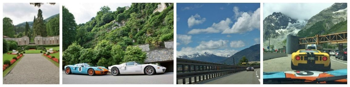 Day 5 Italy to france Ford GT lemans trip