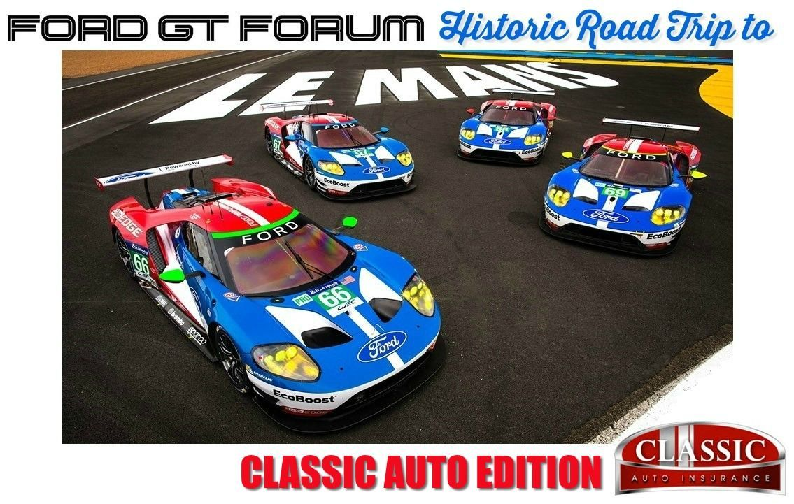 celebrating the 50th anniversary of the ford GT