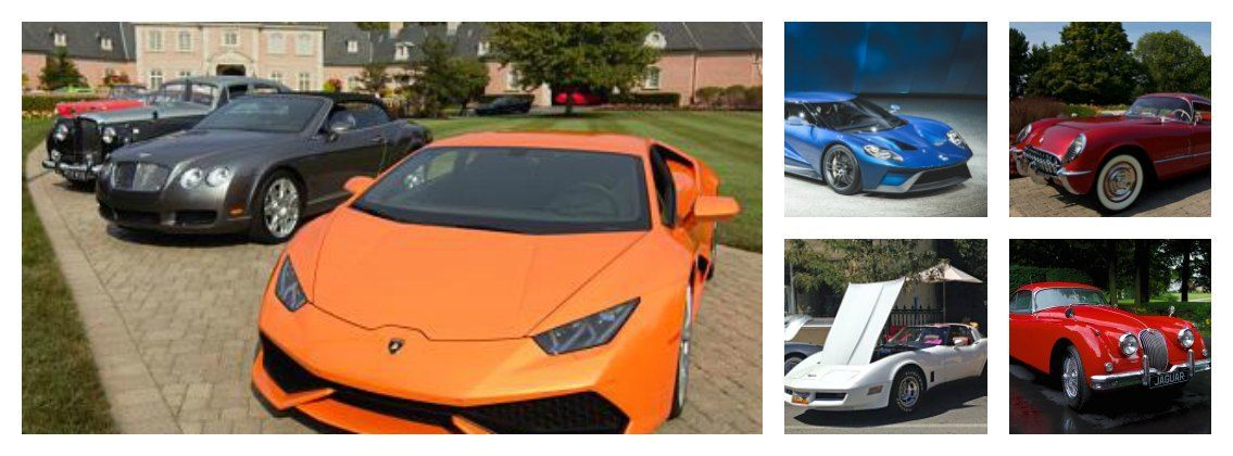Lamborghini's can also be stars when featured in these novels