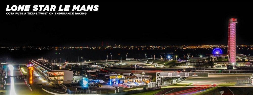 Ford GT runs at lonestar Lemans track