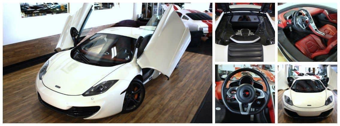 2012 McLaren 12c perfect driving experience