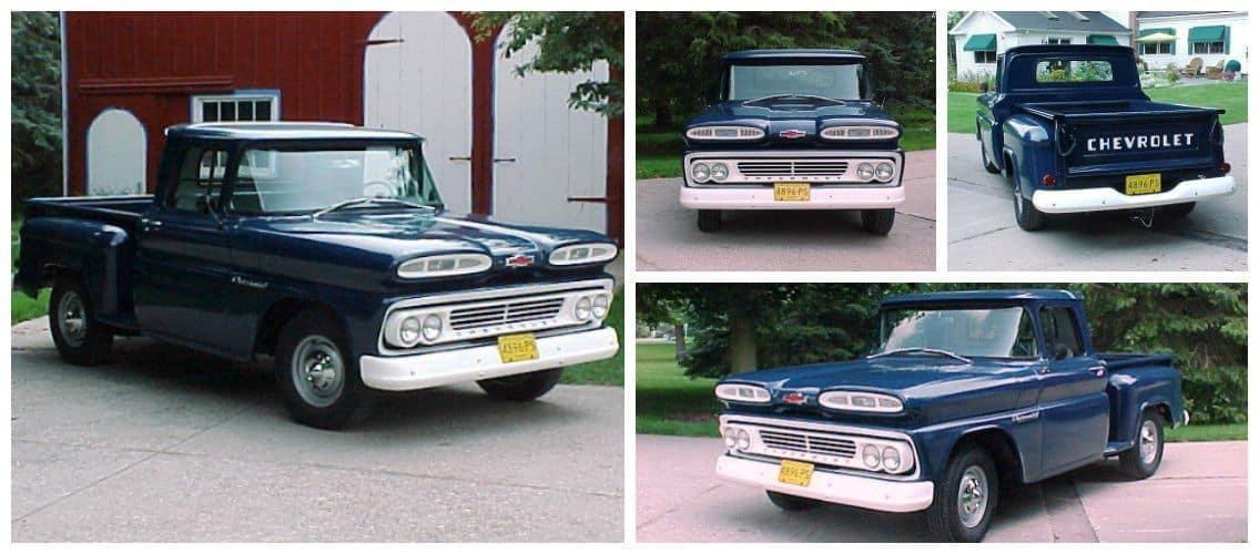 1960 Chevrolet c10 two tone