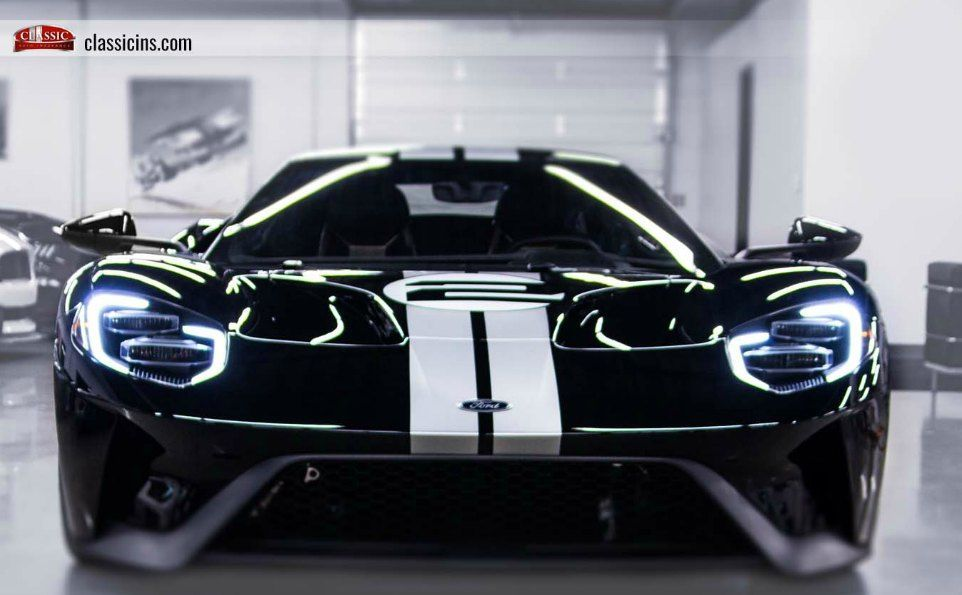 limted production ford GT heritage edition
