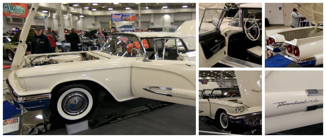 1959 Ford Thunderbird 2016 World of wheels collage