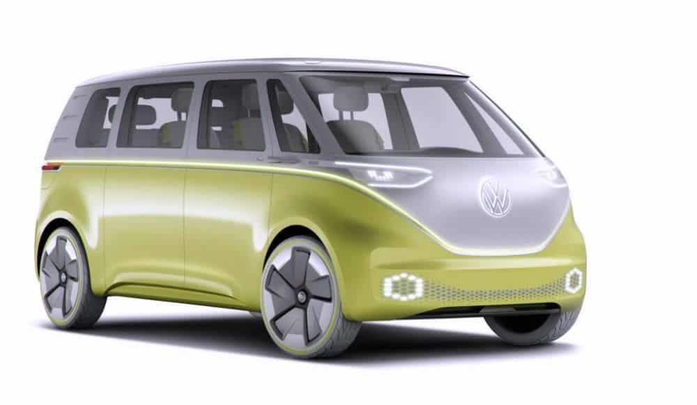Vintage VW bus newage concept