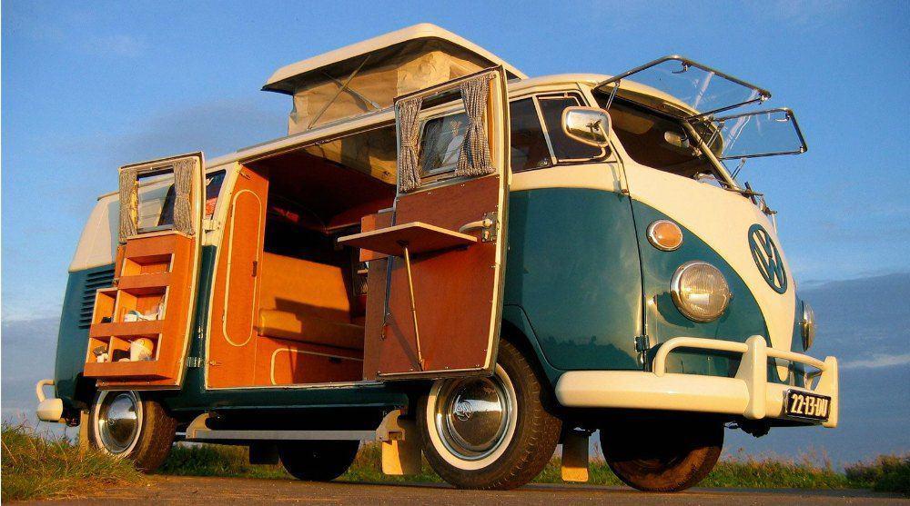Vintage VW Bus westfalia