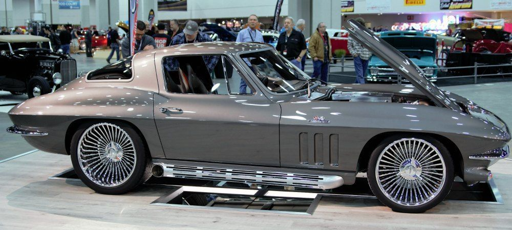 1966 Chevy corvettte autorama