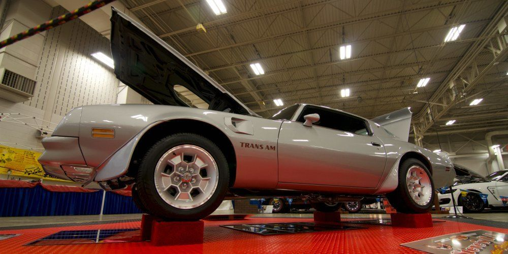 1976 Trans Am restored from the side