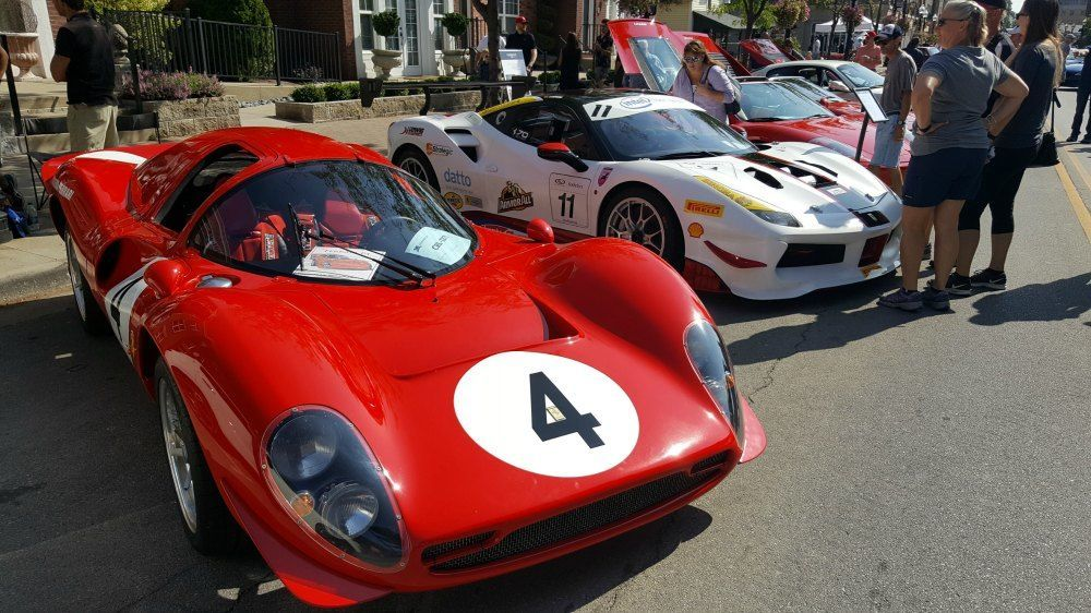 transporting classic race cars