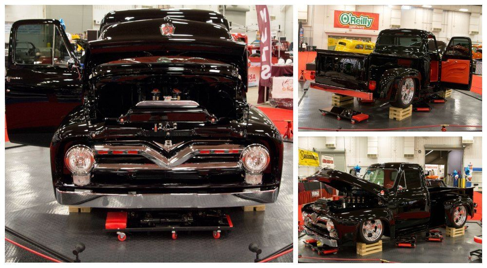 1955 Ford f100 with 545ci big block ford