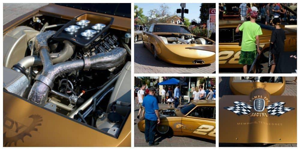 Blowfish the fastest production-bodied car at Bonneville