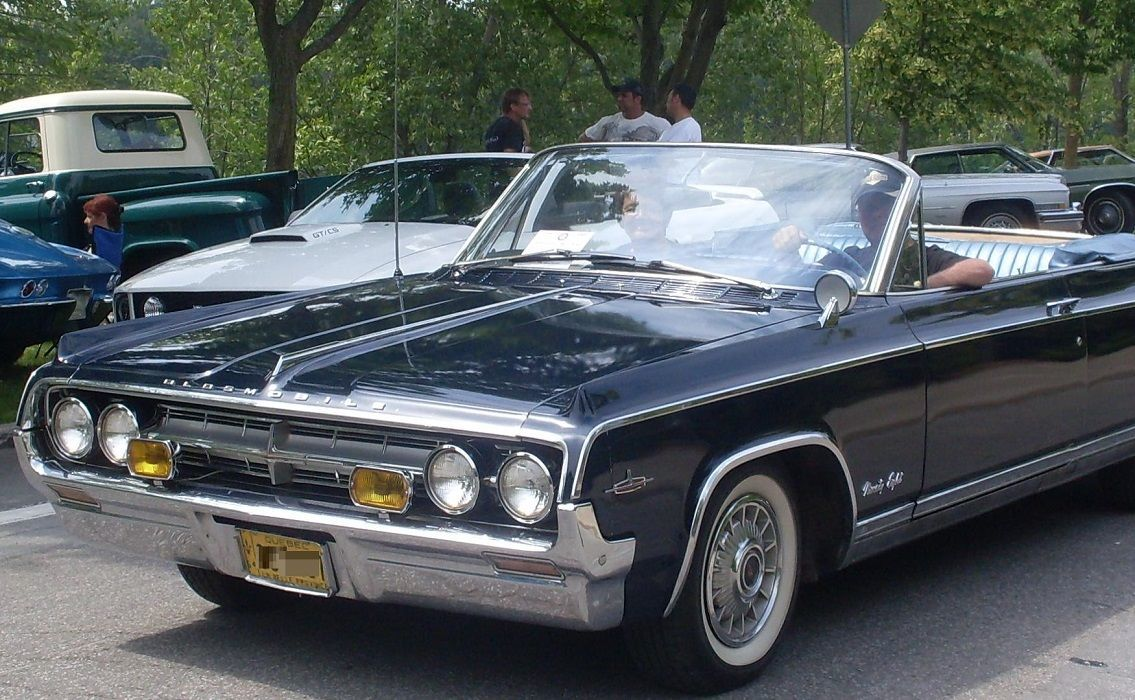 Oldsmobile ninety eight exciting sports car appeal