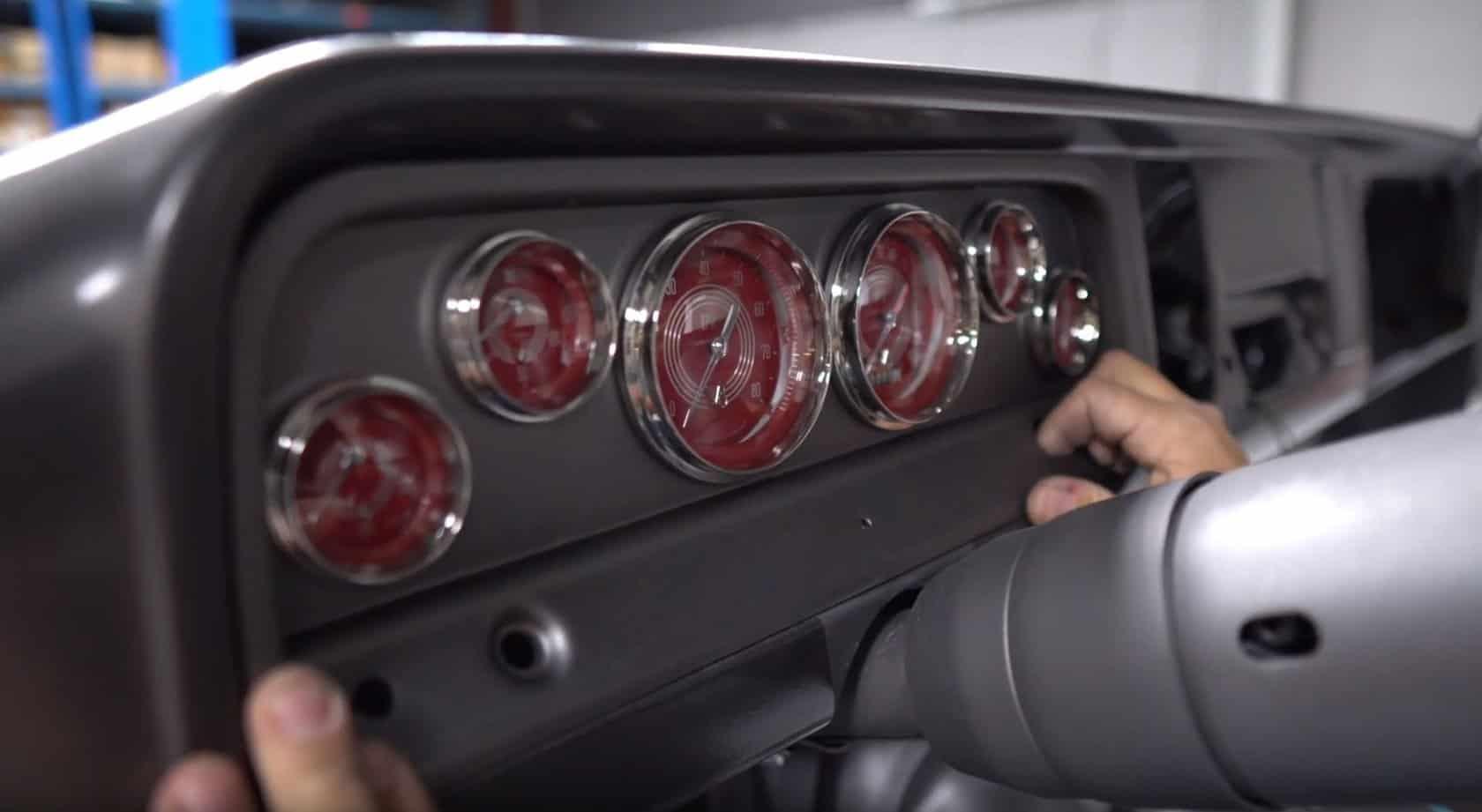 install panel on c10 truck