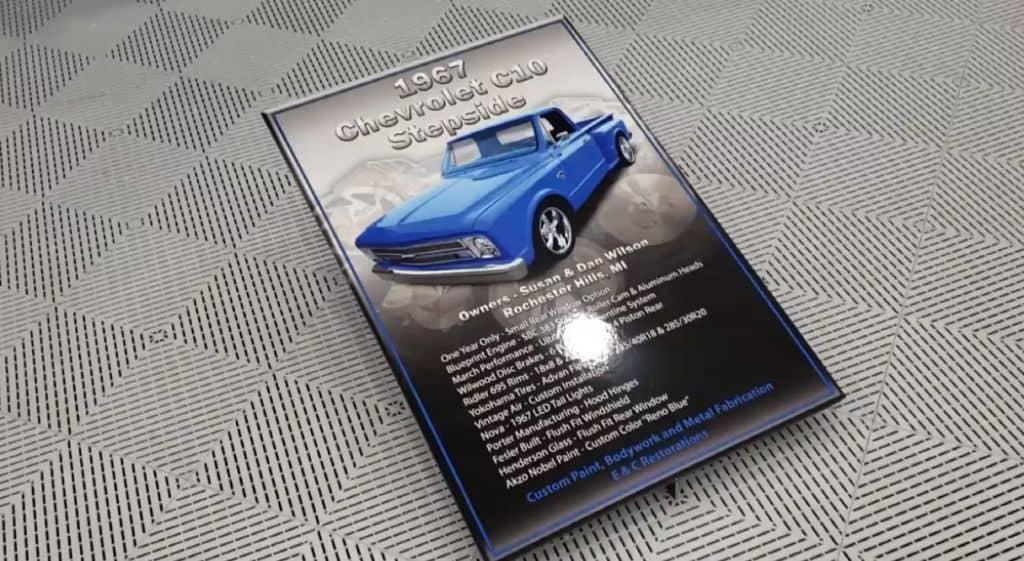 autorama chevy c10 rio blue