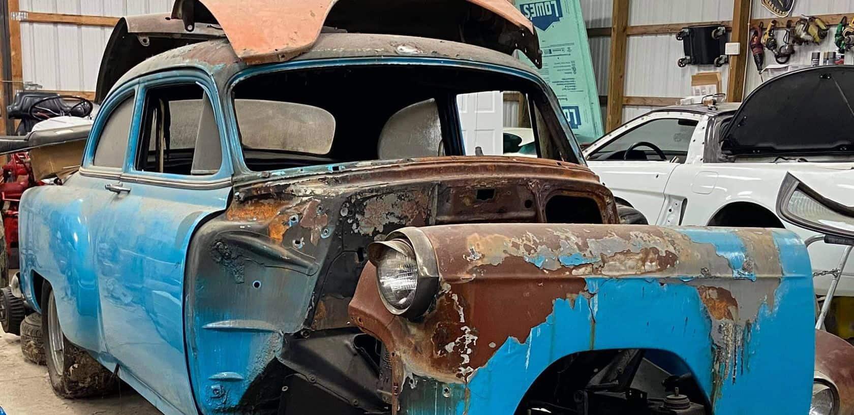 1953 chevy bel air restoration