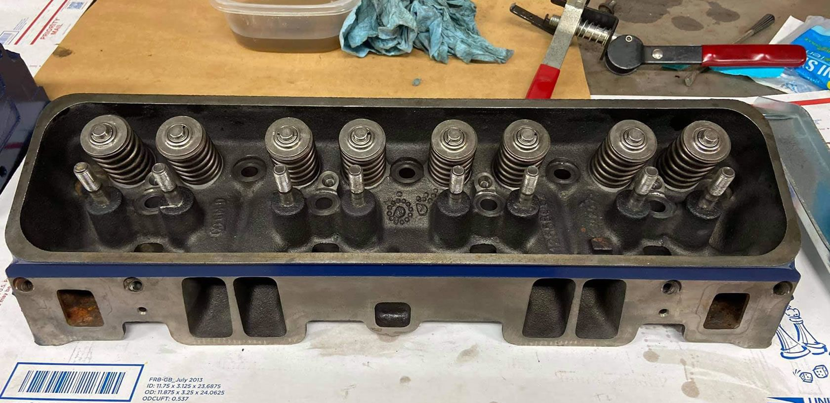 1953 bel air engine heads