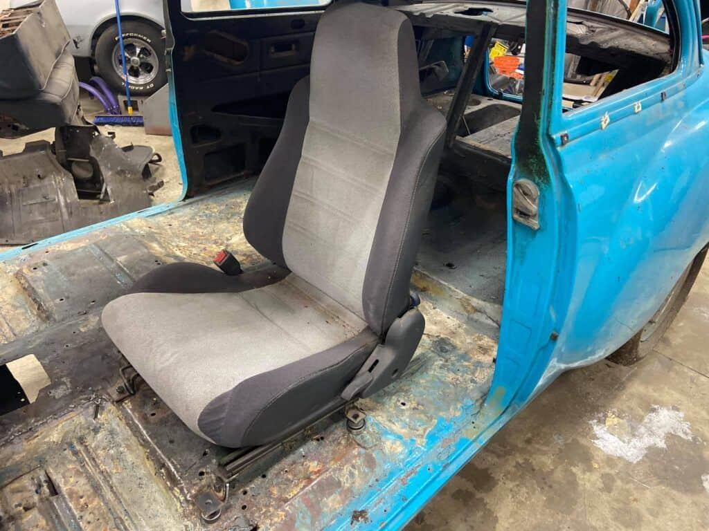 installing seats