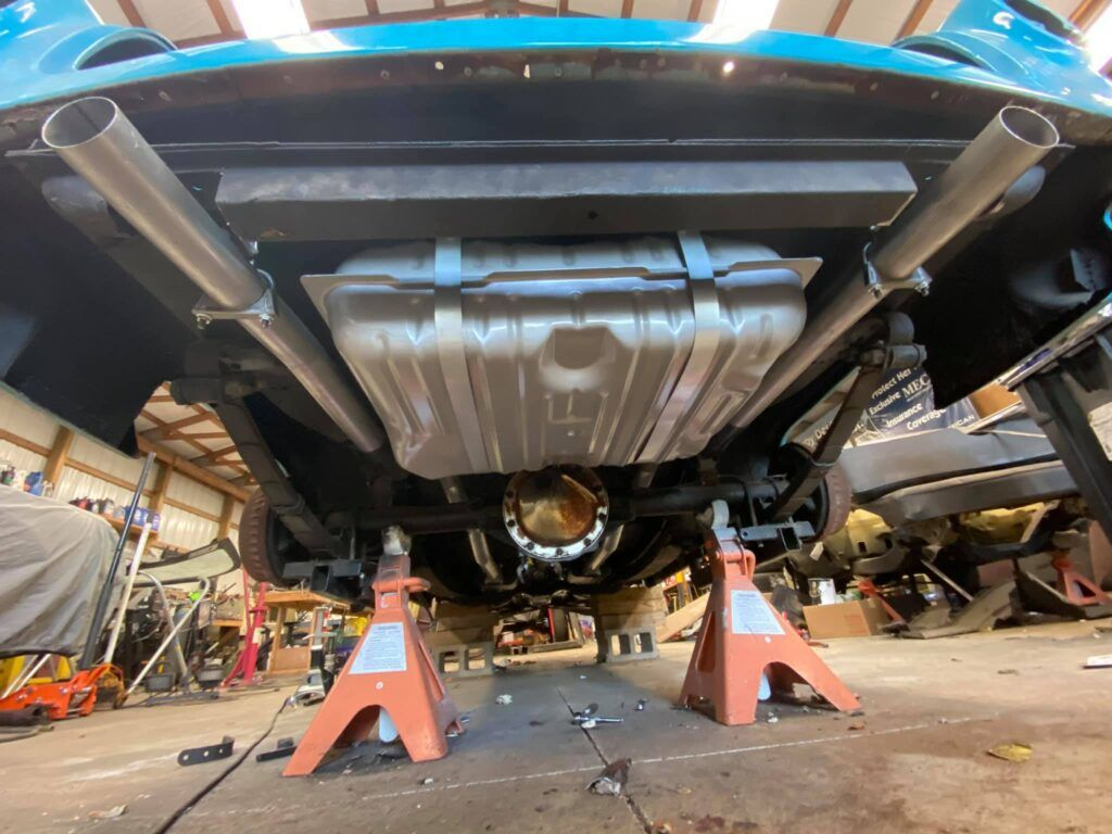 setting up the exhaust